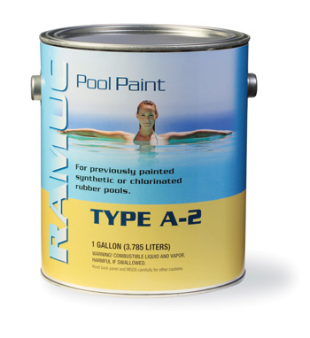 A-2 Chlorinated Rubber Pool Paint