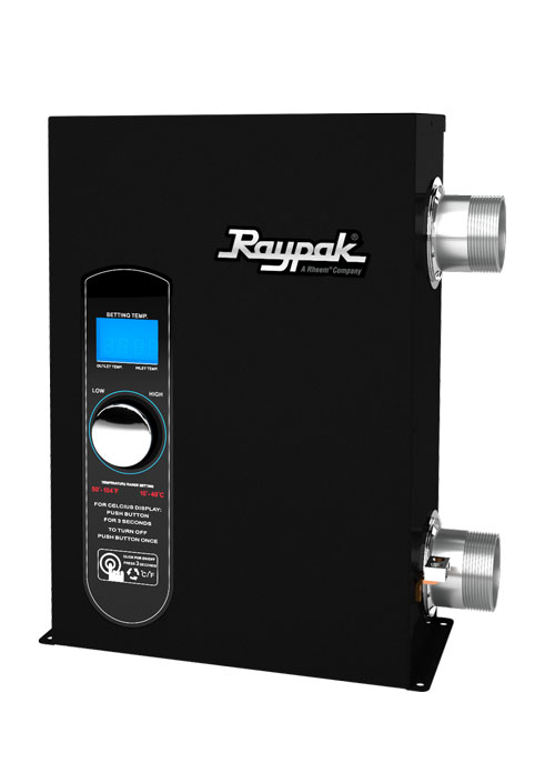 Raypak E3T: Electric Pool and Spa Heater