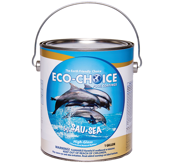 ECO-CHOICE Ultra High Gloss Natural Rubber Pool Paint