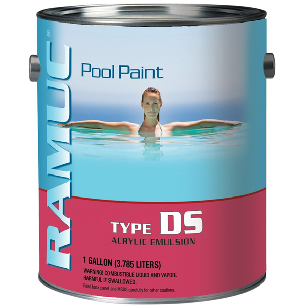 RAMUC's DS Water-Based Acrylic Pool Paint