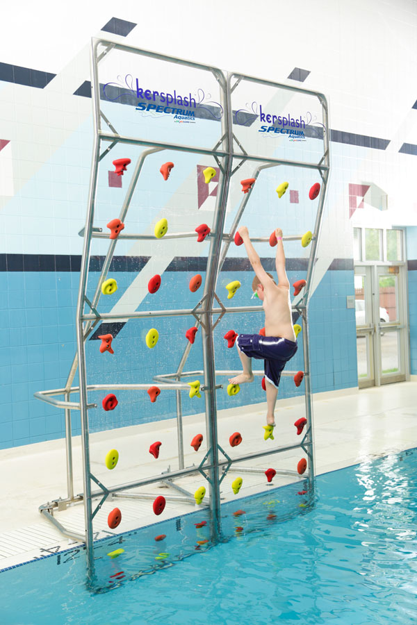 Pool Climbing Walls