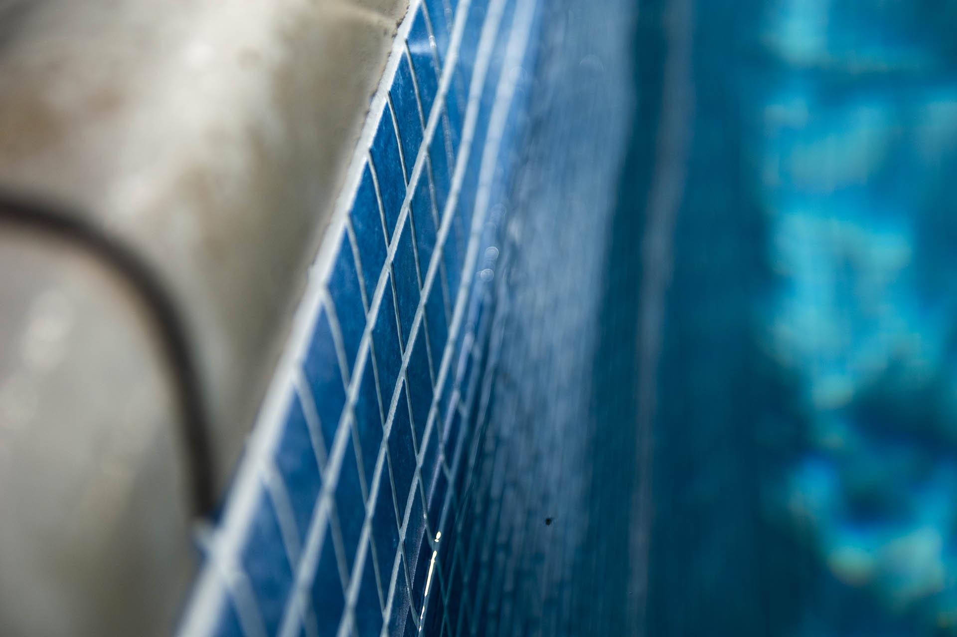 60 mil Reinforced PVC membrane - Matrix Blue