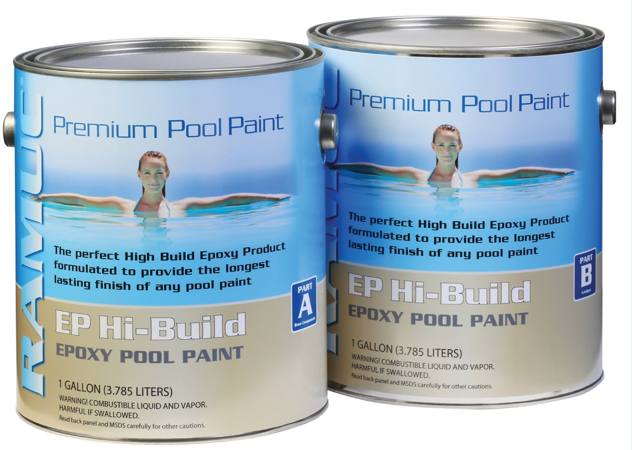 RAMUC EP Hi-Build - best alternative to re-plastering pools