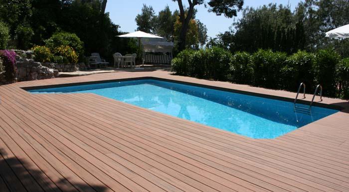 MS pool surround