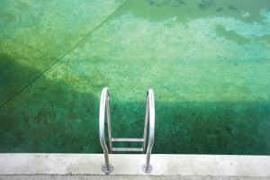 1930`s era Public open air Lido swimming pool
