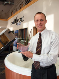 Ipg names bullfrog supplier of the year pool spa marketing for Ipg pool show