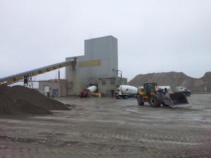 typical concrete batch plant