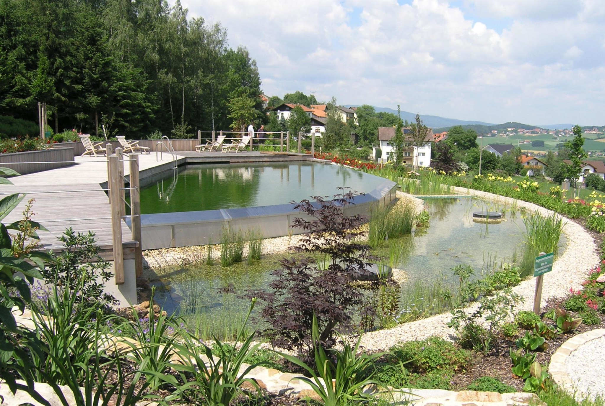 Natural swimming pools nsps garner interest in north for Construction piscine caoutchouc