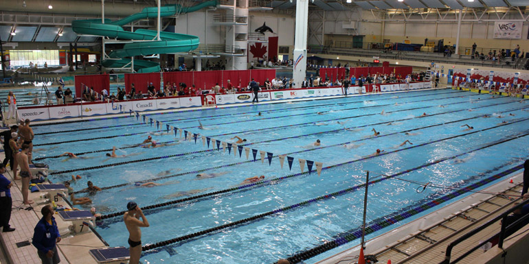 Swimming Canada strategy to fund four national facilities