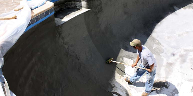 Sealing concrete pools - Pool & Spa Marketing
