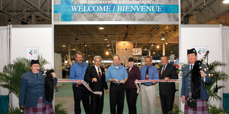 Canadian show a success pool spa marketing for Pool trade show 2015