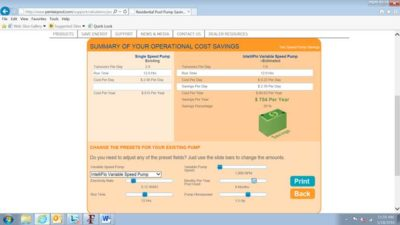 Pentair-cost-calculator-image-sceen-shot