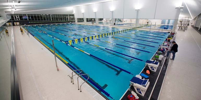 Ubc aquatic facility opens new natatorium to be built in for College laval piscine