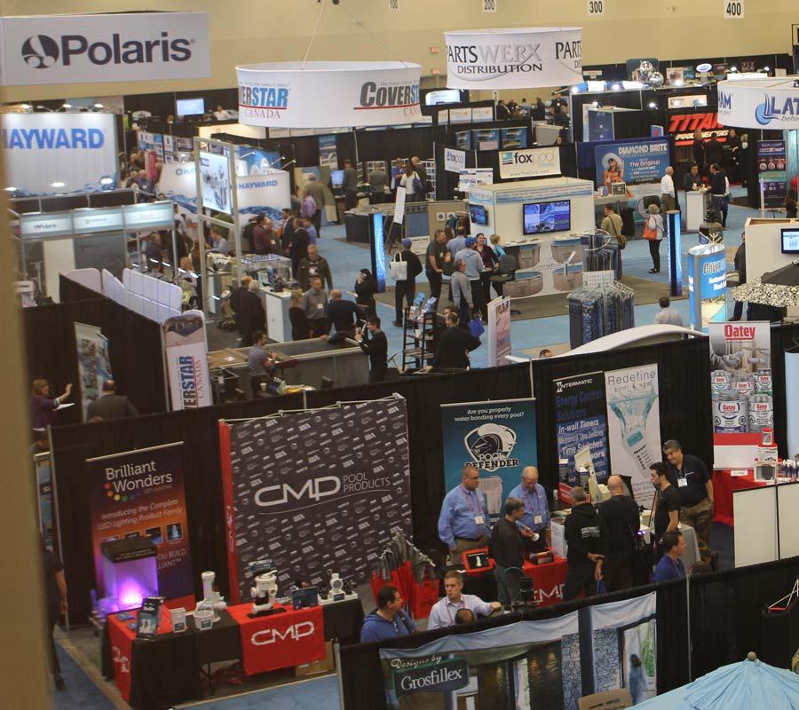 Exhibition show floor