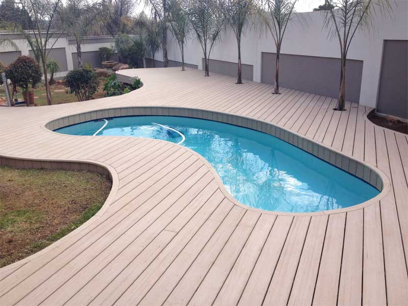 Creating unique pool and hot tub surrounds with composite materials ...