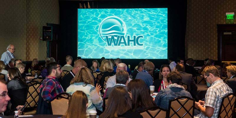Attendees at the 2017 World Aquatic Health™ Conference (WAHC)