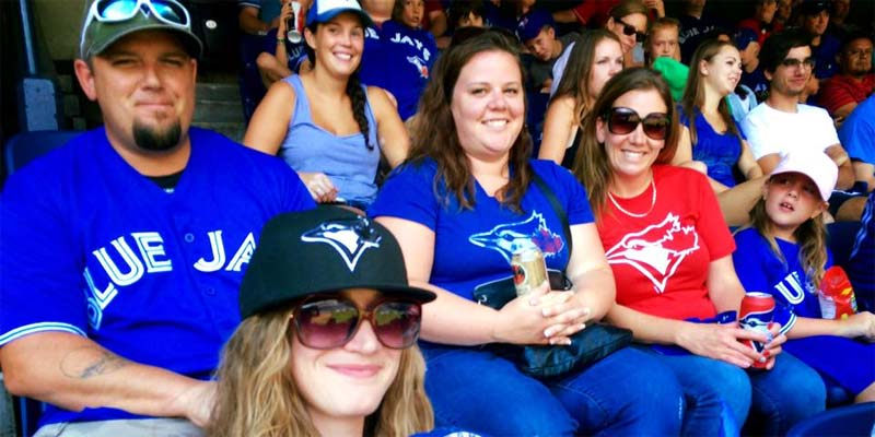 Pool & Hot Tub Council of Canada (PHTCC) Toronto chapter members attend a Toronto Blue Jays game.