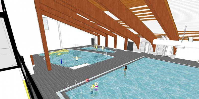 Terrace & District Aquatic Centre illustration