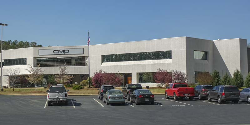 Custom Molded Products' (CMP's) head office in Newnan, Ga.