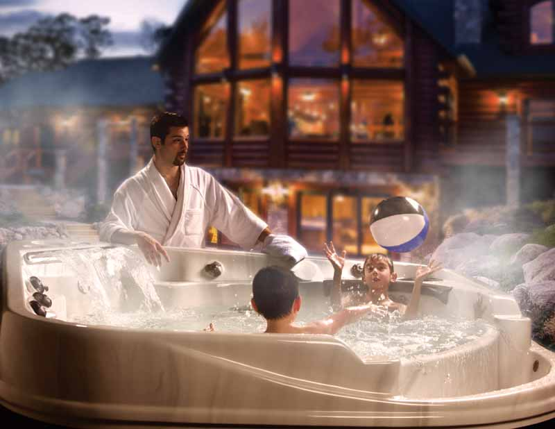 Retail staff should ask how the hot tub will be used, and by who, to start the discussion about additional products that can help to enhance bather enjoyment.