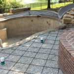 Building a pool with multiple entertainment centres
