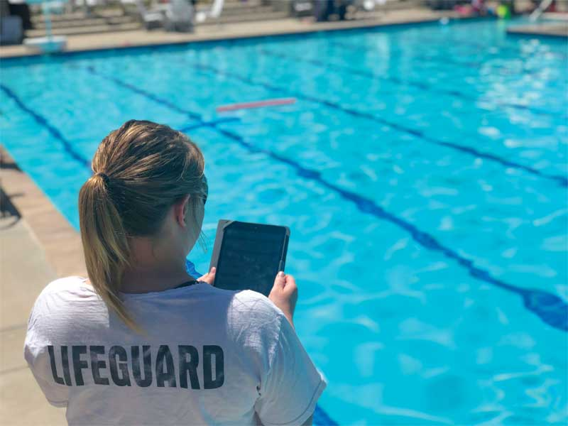 Head lifeguards who handle facility operations and maintenance—or a combination of both—can perform these checks using a web-based documentation tool.