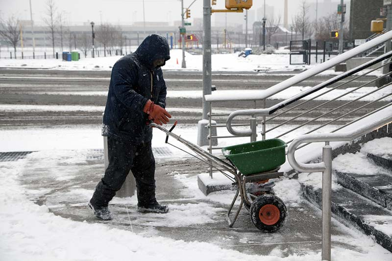 Landscape Ontario is warning of a potential continent-wide salt shortage this winter.