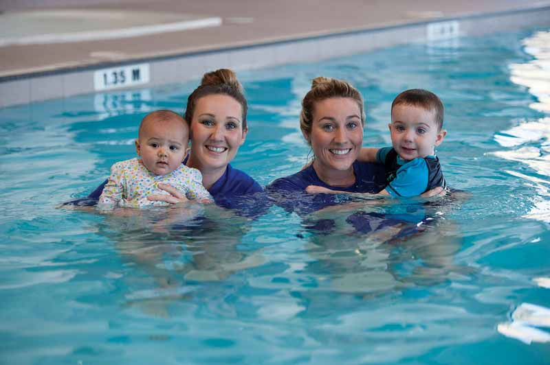 Due to the high numbers of young and first-time bathers the swim school would see over a short period of time, the main concern was maintaining excellent water quality towards the end of these sessions.