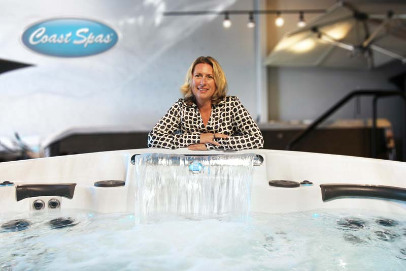 Patricia Diamente has been appointed president and CEO of Coast Spas.
