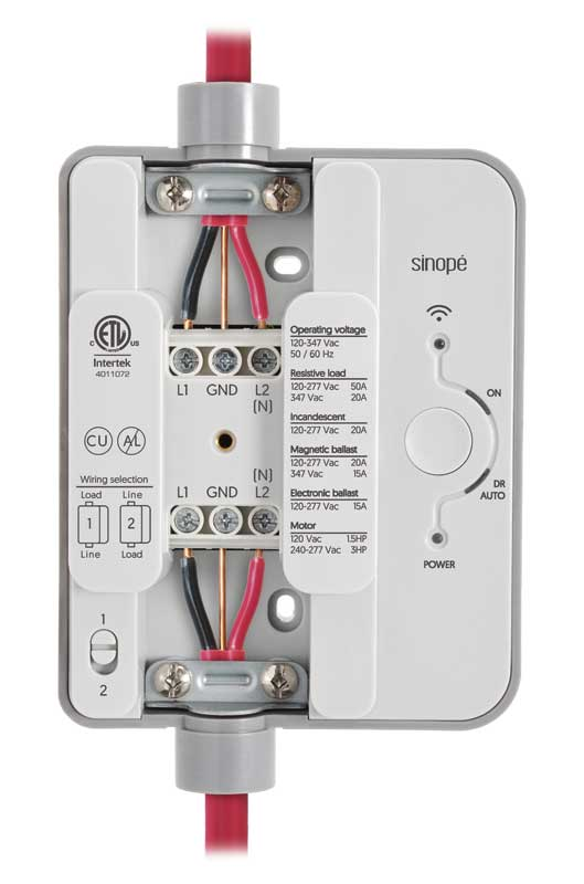 Smart web-programmable electrical load controllers are easy to install.