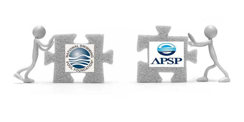The Association of Pool & Spa Professionals (APSP) and the National Swimming Pool Foundation (NSPF) have agreed to merge, forming the Pool & Hot Tub Alliance.