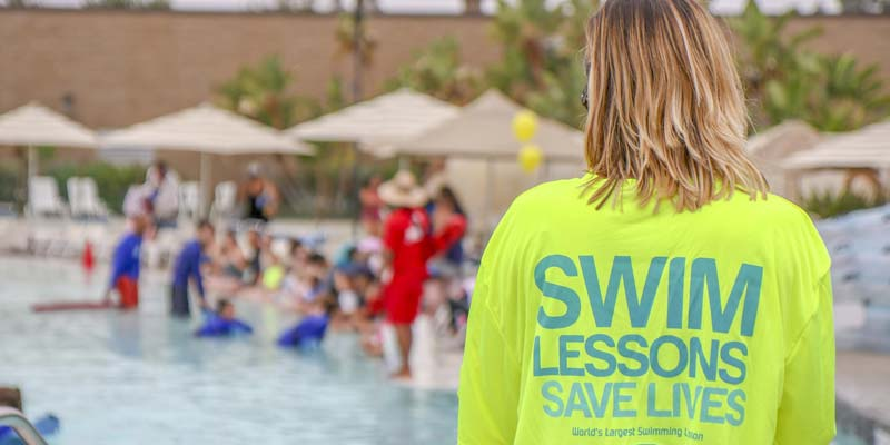 The World's Largest Swimming Lesson (WLSL) organizers anticipate more than 600 facilities will host a WLSL event in more than 20 countries.