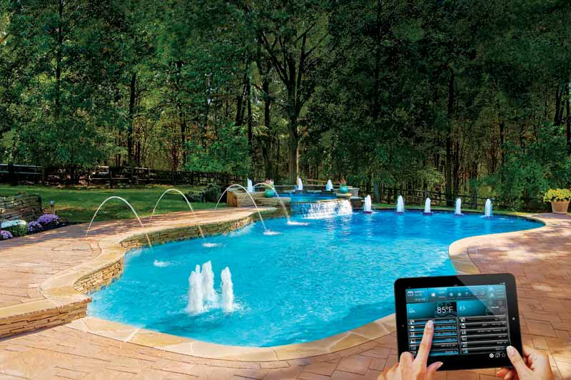 Many easy-to-use/easy-to-install smart control options are available to pool owners.