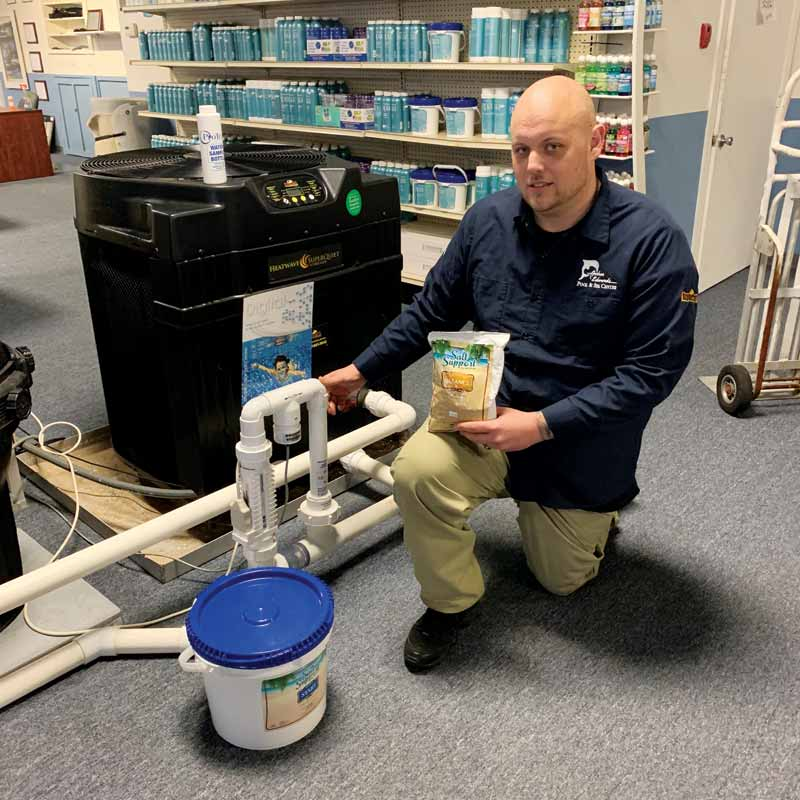 For retailers, the good news about salt chlorine generators is that many consumers will walk into a store, already interested in converting their pool into a 'salt pool.'