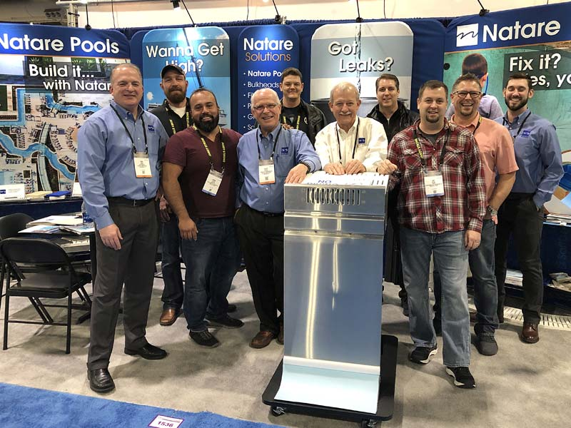 A new partnership between Natare Corporation and Austin Carroll Pool Construction Ltd., in Milton, Ont., will see the latter offer the former's full-range of stainless steel pools, filtration, and pool systems.