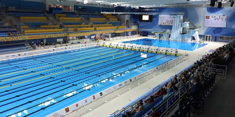 The Toronto Pan Am Sports Centre (TPASC) will host the 2020 Olympic and Paralympic Trials between March 30 and April 5, 2020.