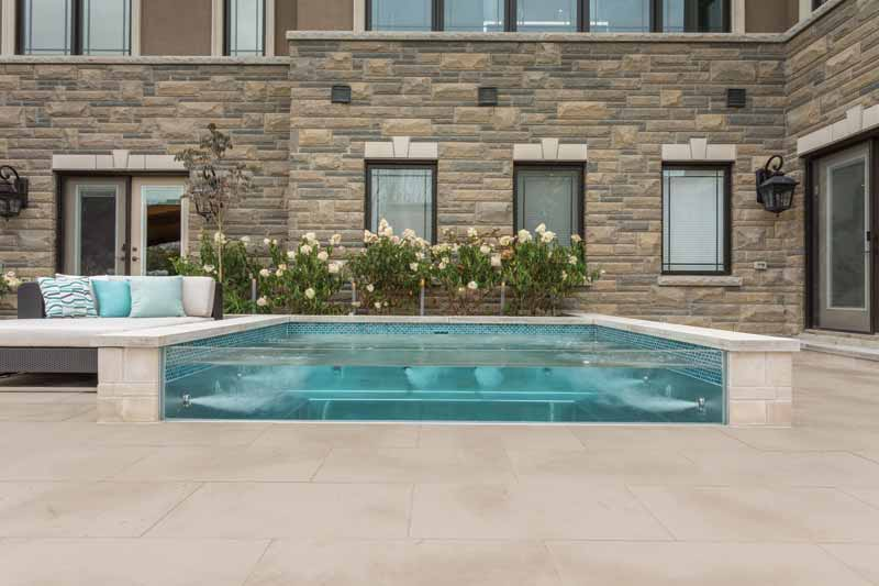 The precision and versatility of stainless steel enables greater design flexibility compared to other common pool construction materials.