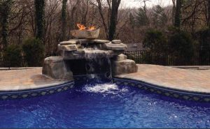 Homeowners look to their backyard professional to incorporate fire features so they get more enjoyment out of their pool and outdoor living space at night.
