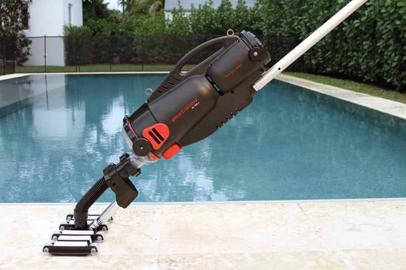 Many retailers say 90 per cent of their handheld, battery-operated pool cleaners sales come from their existing customer base.