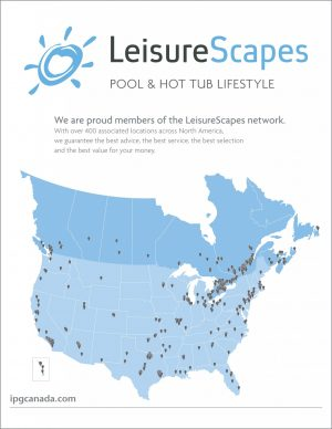 The LeisureScapes brand offers growth opportunities across Canada and the U.S.