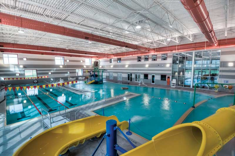 Large indoor aquatic facilities with pools, waterparks, and other aquatic attractions continue to be built and frequented across the country.