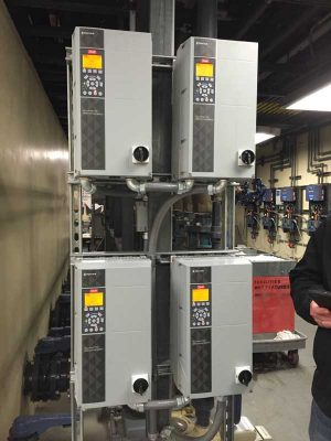 An automatic controller can be used to set a backwash schedule based on the pressure reading.