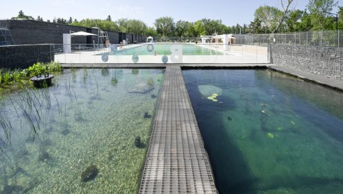 edmonton The natural swimming pool at Edmonton's Borden Park has received an award in 'Innovation' from The Royal Architectural Institute of Canada.