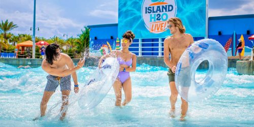 Island H20 Live waterpark has opened in Flordia.