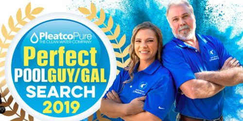 Pleatco has started its 2019 Perfect Pool Guy and Perfect Pool Gal contest.