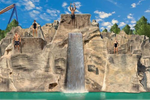 Canada's Wonderland has announced plans for a multi-level cliff jumping attraction in its waterpark.