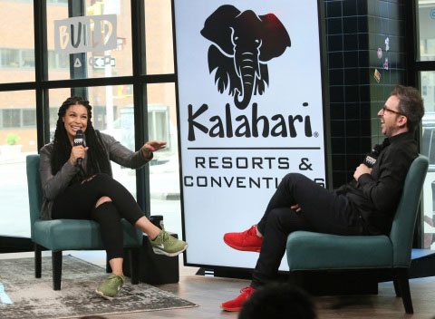 Kalahari Resorts and Conventions partnered with Jordin Sparks for National Waterpark Day.