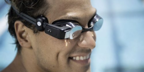 Vancouver's Form has partnered with Polar to include heart rate technology in their swim googles.