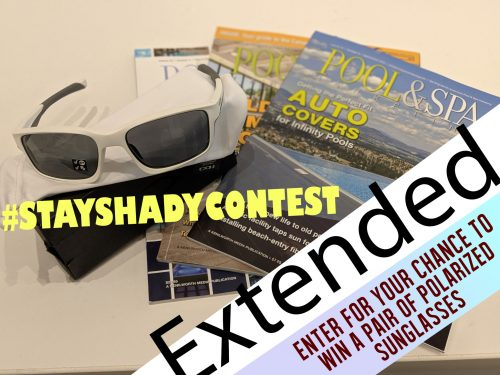 The #STAYSHADYCONTEST has been extended until Monday, Dec. 9.