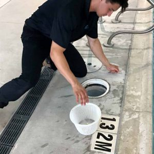 Regular cleaning of the skimmer and strainer baskets will help keep the pool's water chemistry in check, but will also extend the life of the pump.